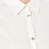Love Moschino Women's Silver Heart Pendant Shirt - White: Image 5