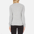 Love Moschino Women's Slogan Jumper - Grey Melange: Image 3