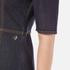 Love Moschino Women's Denim Fitted Dress - Denim: Image 5