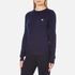 Love Moschino Women's Silver Heart Pendant Jumper - Navy: Image 2