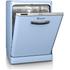 Swan SDW7040BLN Retro Dishwasher - Blue: Image 1