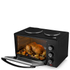 Tower T14013 28L Mini Oven with Double Hotplates - Black: Image 2