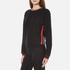 McQ Alexander McQueen Women's Cropped Sweatshirt - Darkest Black: Image 2