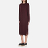 McQ Alexander McQueen Women's Side Slit Sweater Dress - Port: Image 2