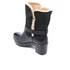UGG Women's Brea Clog Suede Buckle Boots - Black: Image 4