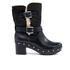 UGG Women's Brea Clog Suede Buckle Boots - Black: Image 1