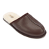 UGG Men's Scuff Leather Sheepskin Slippers - Stout: Image 2