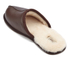 UGG Men's Scuff Leather Sheepskin Slippers - Stout: Image 4