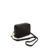 DKNY Women's Gansevoort Pinstripe Quilted Square Crossbody Bag - Black: Image 3