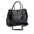 DKNY Women's Bryant Park Large Satchel - Black: Image 3