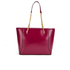 Ted Baker Women's Jalie Geometric Bow Shopper Tote - Oxblood: Image 5