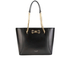 Ted Baker Women's Jalie Geometric Bow Shopper Tote - Black: Image 1