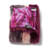 Ted Baker Women's Wyla Triple Stripe Detail Fur Scarf - Mid Purple: Image 3