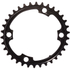 AbsoluteBLACK 110BCD 4 Bolt Spider Mount Oval Chain Ring (Premium)