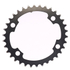 AbsoluteBLACK 110BCD 4 Bolt Spider Mount Oval Chain Ring (Training)