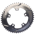 AbsoluteBLACK 110BCD 5 Bolt Spider Mount Aero Oval Chain Ring (Training): Image 4