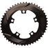 AbsoluteBLACK 110BCD 5 Bolt Spider Mount Aero Oval Chain Ring (Premium): Image 6