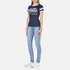Superdry Women's Classics T-Shirt - Princeton Blue Marl: Image 4