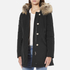 Woolrich Women's Luxury Arctic Parka - Black: Image 2