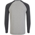 Tokyo Laundry Men's Fremont Cove Raglan Long Sleeve Top - Charcoal Marl: Image 2