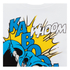 DC Comics Mens Batman Kaboom Whak Woom T-Shirt - Wit: Image 3