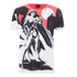 T-Shirt Homme DC Comics Batman v Superman Wonder Woman Scène - Blanc