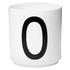 Design Letters Porcelain Cup - O: Image 1