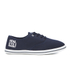Henleys Men's Stash Canvas Pumps - Navy: Image 1