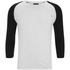 Produkt Men's 3/4 Sleeve Raglan Top - White: Image 1
