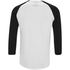 Produkt Men's 3/4 Sleeve Raglan Top - White: Image 2