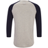 Produkt Men's 3/4 Sleeve Raglan Top - White Melange: Image 2
