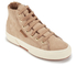 Superga Women's 2795 Syntshearlingw Hi-Top Trainers - Beige: Image 2