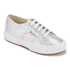 Superga Kids' 2750 Lamej Trainers - Silver: Image 2