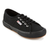 Superga Kids' 2750 Jcot Classic Trainers - Full Black: Image 2