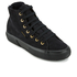 Superga Women's 2795 Syntshearlingw Hi-Top Trainers - Full Black: Image 2
