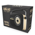 Akai A60010DAB DAB Retro Radio - Black