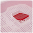 Tower T90811R Microwave Plate 880ml - Red: Image 2
