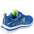 Skechers Kids' Nitrate Trainers - Blue/Yellow: Image 2