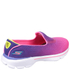 Skechers Kids' Go Walk 3 Shoes - Purple/Pink: Image 2