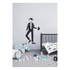 Design Letters Kids' Collection Measureman Wallsticker - Black: Image 2