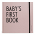 Design Letters Kids' Collection Baby's First Book - Pink: Image 1