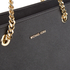 MICHAEL MICHAEL KORS Women's Jet Set Travel Chain TZ Tote Bag - Black: Image 4