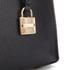 MICHAEL MICHAEL KORS Women's Mercer Mid Messenger Tote Bag - Black: Image 4