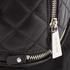 MICHAEL MICHAEL KORS Women's Small Fur Backpack - Black: Image 7