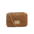 MICHAEL MICHAEL KORS Women's Sloane Large Chain Suede Shoulder Bag - Dark Caramel: Image 1