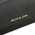 MICHAEL MICHAEL KORS Women's Bedford Large Flat Wallet - Black: Image 3