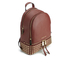 MICHAEL MICHAEL KORS Women's Rhea Zip Mid Stud Backpack - Brick: Image 3