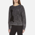 Marc Jacobs Women's Long Sleeve Crew Neck Cat Sweatshirt - Grey: Image 2