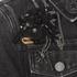Marc Jacobs Women's Shrunken Denim Jacket - Black: Image 6