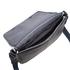 Ted Baker Men's Webster Striped Webbing Messenger Bag - Black: Image 5